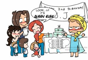 The cold never bothered me anyway. by KamiDiox