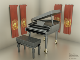 3D Grand Piano - Octane 1 by ChibiYugi