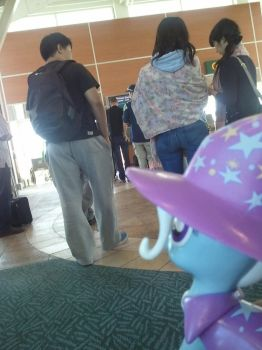 Trixie Hates Airport lines by ArmoredKangaroo
