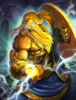 SMITE Golden Zeus by Brolo