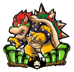 King Bowser by Patrick-Theater