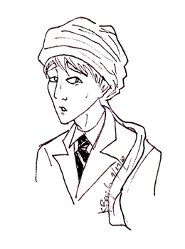 HP. Prof Quirrell by morlockiness
