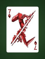 7 Of Diamonds aka 7 Of Earth by LineDetail