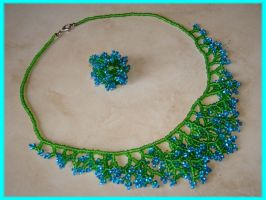 Green-turquoise set by jasmin7