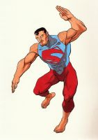 Superman redesign by Bleagh