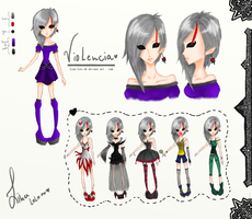 Violencia new OC by Bouchra-lina