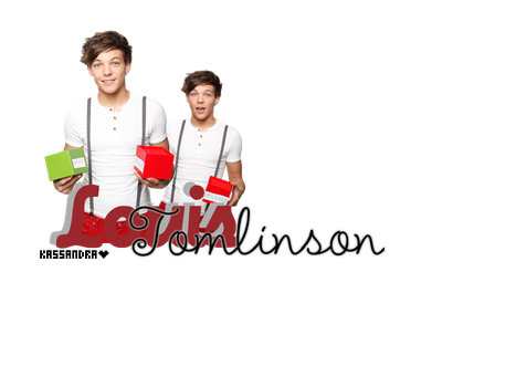 Louis Tomlinson Texto PNG by StaystrongImunbroken