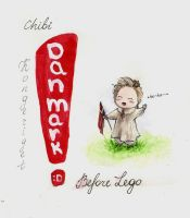 Chibi Denmark Diaries - Cover by PurpleShadowAngel