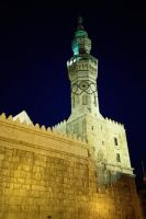 Tower of Umayyad Mosquea by obada911