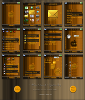 iPhone Wood by Webby-B
