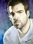 Zachary Quinto by Musyupick