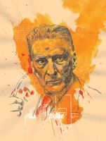 Lucian Freud by Yellowcardas