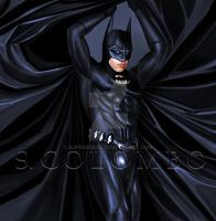 VAL KILMER BATMAN by supersebas