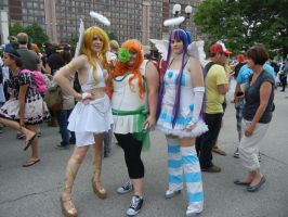 Anime North 2012 - Panty and Stocking Cosplay by jmcclare