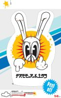 Peel.Off: FunnyBunny v01 by R2works