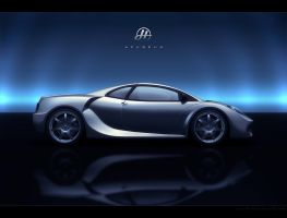 Azureus Supercar 02 by drewbrand