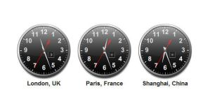 XML World Timezone Clocks by DXC381