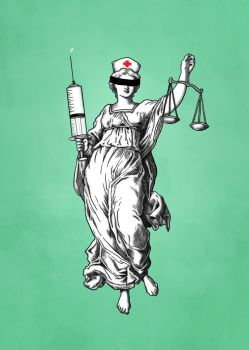 Lady Nurse Justice by h4nd