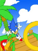 sonic by felle2thou
