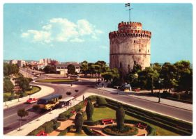 postcard from Thessaloniki by twistingteen