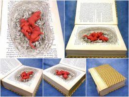 Baby Rat Book Nest by Noadi