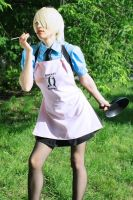 The best weapon - a frying pan by Nyandalee