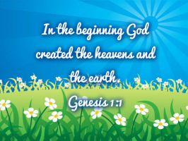 Genesis 1:1 by SupernovaSword