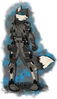 William the Fox - Request by Silverfang-Alchemist