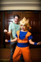 GOKU MEETs GOKU cosplay 3 by Oniakako