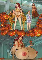 Trick or Treat or Transformation! by expansion-fan-comics