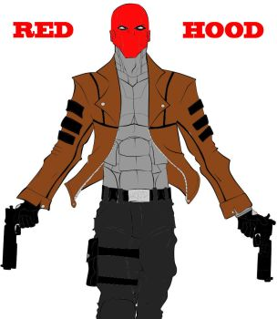 Badass RED HOOD by tRUjusTICE001