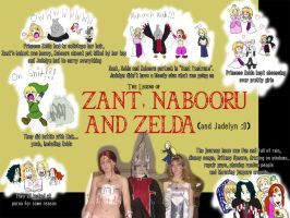 .:The Legend of Zant and co:. by charliemalfoy