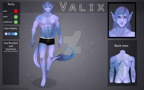 (closed) Auction Adopt-Valix: Lavender Kiss by CherrysDesigns
