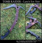[TOMB RAIDER] Lara's Ice Axe by Dj3r0m