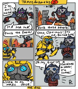 Transformers 5_The Last Knight, comics #2 by Ayej