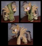 Daring Do in hoodie and socks by MLPT-fan