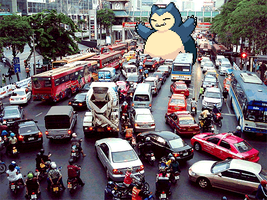 Snorlax Gif by c0ol3st