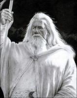 Mithrandir - Gandalf by leiaskywalker83