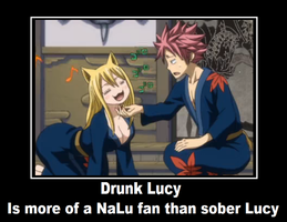 Fairy Tail, Natsu and Lucy by YumiFireFox