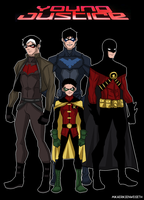 Young Justice - Robins by mikaeriksenweiseth