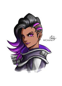 Sombra poster by MCAshe