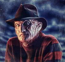 Freddy Krueger by G-10gian82
