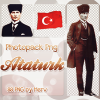 PNG Pack(172) ATATURK by BeautyForeverr
