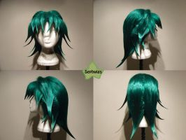 Wig Commission- Zane Truesdale by kyos-girl
