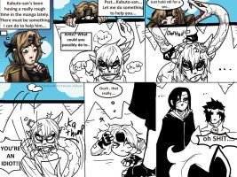 Helping by Yakushi--Kabuto
