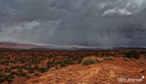 The Storm Across the Reef by mjohanson