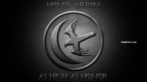 The banner of house Arryn by mrminutuslausus