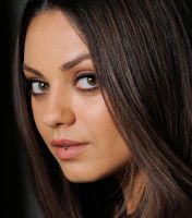 Between the lips of Mila Kunis by massiveGTS