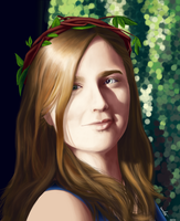 Woodland Portrait by TamHorse