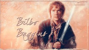 Bilbo Baggins wallpaper by HappinessIsMusic